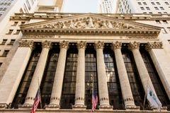 La Bolsa de Nuevo York fotos de archivo