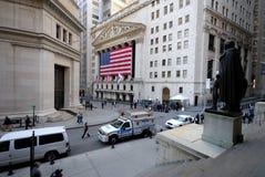 La Bolsa de Nuevo York Fotos de archivo libres de regalías