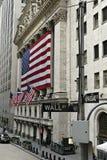 La Bolsa de Nuevo York Imágenes de archivo libres de regalías