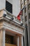 La Bolsa de Nuevo York, New York City Fotos de archivo