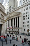 La Bolsa de Nuevo York, Wall Street Imagenes de archivo