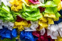 La bolsa de plástico Imagen de archivo