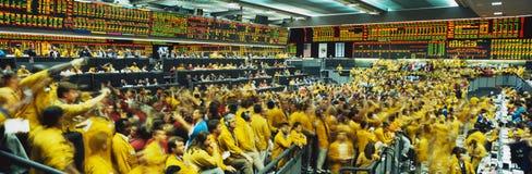 La Bolsa Mercantil de Chicago Imágenes de archivo libres de regalías