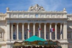 La bolsa y Chambre de Commerce Marsella, Francia Foto de archivo libre de regalías