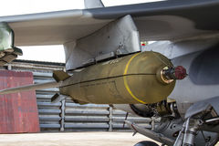 La bomba destruye Fotografía de archivo