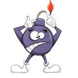 La bomba di ciliegia si brucia illustrazione Fotografie Stock Libere da Diritti
