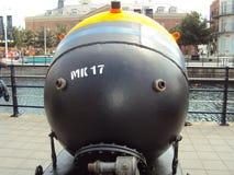 La bomba masiva de Portsmouth 1950 Fotografía de archivo