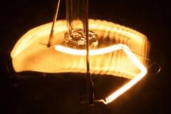 La bombilla da vuelta por intervalos Foto de archivo libre de regalías