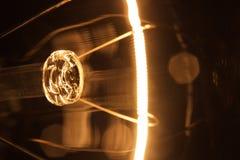 La bombilla da vuelta por intervalos Fotografía de archivo