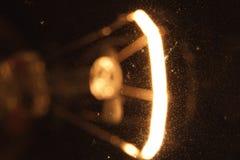 La bombilla da vuelta por intervalos Fotografía de archivo libre de regalías