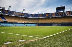 La Bombonera, Boca Juniors Stadium, Buenos Aires, Argentina royaltyfria foton