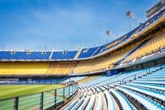 La Bombonera Boca Juniors van Está dio royalty-vrije stock afbeelding
