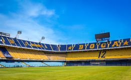 Estádio La Bombonera Boca Juniors royalty free stock photo