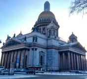 La bonne église d'hiver Photographie stock