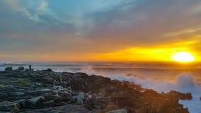 La bonne route pour la plage de paradis Photos libres de droits