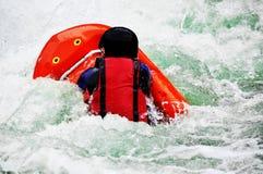 La boogie del río como río del extremo y de la diversión se divierte Fotos de archivo
