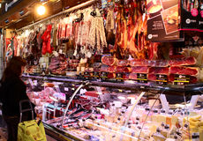 La Boqueria royalty free stock photo