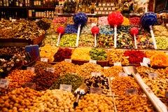 La Boqueria in Barcelona royalty free stock photos
