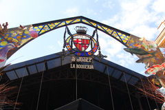 La Boqueria Barcelona do St Josep de Mercat Imagem de Stock Royalty Free