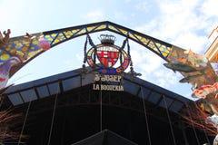La Boqueria Barcelona Mercat Str.-Josep Lizenzfreies Stockbild