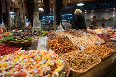 La Boqueria Barcelona Spain Royalty Free Stock Photo