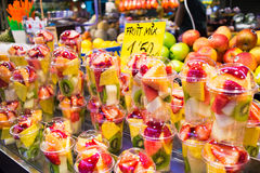 La Boqueria Stock Photography