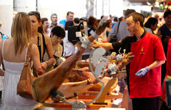 La Boqueria market. Royalty Free Stock Images