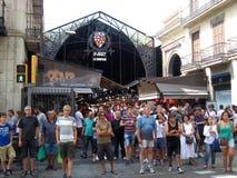 La boqueria market barcelona Stock Photo