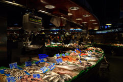 La Boqueria market,Barcelona Stock Photos