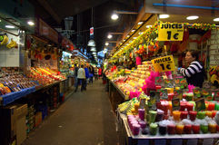 La Boqueria market,Barcelona Royalty Free Stock Images
