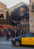 La Boqueria Market Barcelona Royalty Free Stock Photo