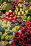 La Boqueria market in Barcelona - Spain Stock Photos