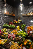 La Boqueria market in Barcelona - Spain Royalty Free Stock Photo