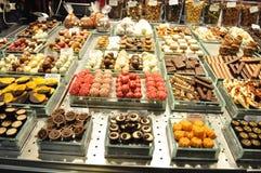 La Boqueria market in Barcelona - Spain Stock Images