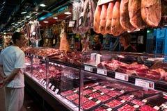 La Boqueria Market in Barcelona, Spain Royalty Free Stock Photo