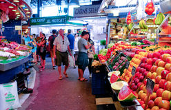 La Boqueria market in Barcelona Royalty Free Stock Image