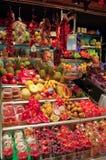 La Boqueria market in Barcelona Royalty Free Stock Photo