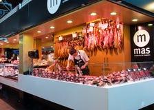 La Boqueria market in Barcelona Stock Photo