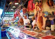 La Boqueria market in Barcelona Stock Photos
