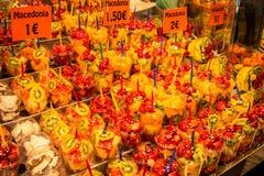La Boqueria market in Barcelona, Spain Royalty Free Stock Photography