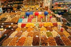 La Boqueria Markt, Barcelona, Spanien. Stockbild
