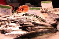 La Boqueria: Mercado de Barcelona Fotos de archivo libres de regalías