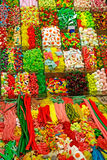 La Boqueria sweets. Royalty Free Stock Photos