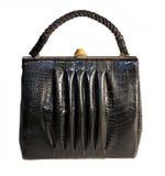 La borsa d'annata delle donne Immagine Stock