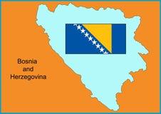 La Bosnia-Erzegovina Immagini Stock