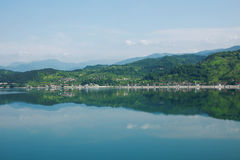 La Bosnie-Herzégovine, lac Jablanica Images stock