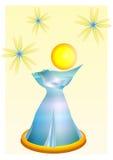 La botella de perfume Foto de archivo