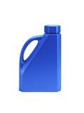 La botella de petróleo de motor 3d aislado rinde Foto de archivo