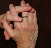 La boucle de mariage image libre de droits