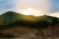 La boue Vulcano photographie stock libre de droits